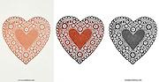 paper heart decoration
