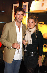 ED MILBANK and ALEX GORE BROWNE at a party tp celebrate the opening on Sac Freres at 7 Grafton Street, London W1 on 27th October 2005.<br /><br />NON EXCLUSIVE - WORLD RIGHTS