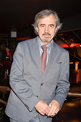 Sebastian Barry winner of the Costa Novel Award at the Costa Book of The Year Awards held at Quaglino's, 16 Bury Street, London England. 31 January 2017.