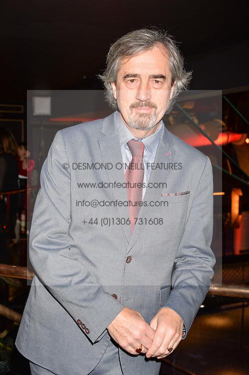 Sebastian Barry winner of the Costa Novel Award at the Costa Book of The Year Awards held at Quaglino's, 16 Bury Street, London England. 31 January 2017.