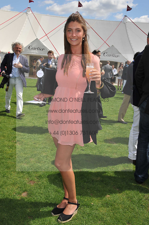 PRINCESS AUGUSTA VON PREUSSEN at the 27th annual Cartier International Polo Day featuring the 100th Coronation Cup between England and Brazil held at Guards Polo Club, Windsor Great Park, Berkshire on 24th July 2011.