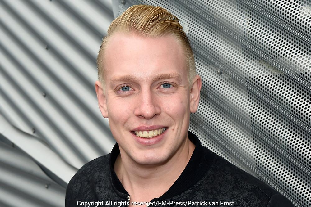 Lancering nieuw initiatief Nederlandse muziekmaat- schappijen- Hits NL, de Nederlandstalige streamingdienst in de Vorstin, Hilversum.<br /> <br /> Op de foto:  Billy Dans