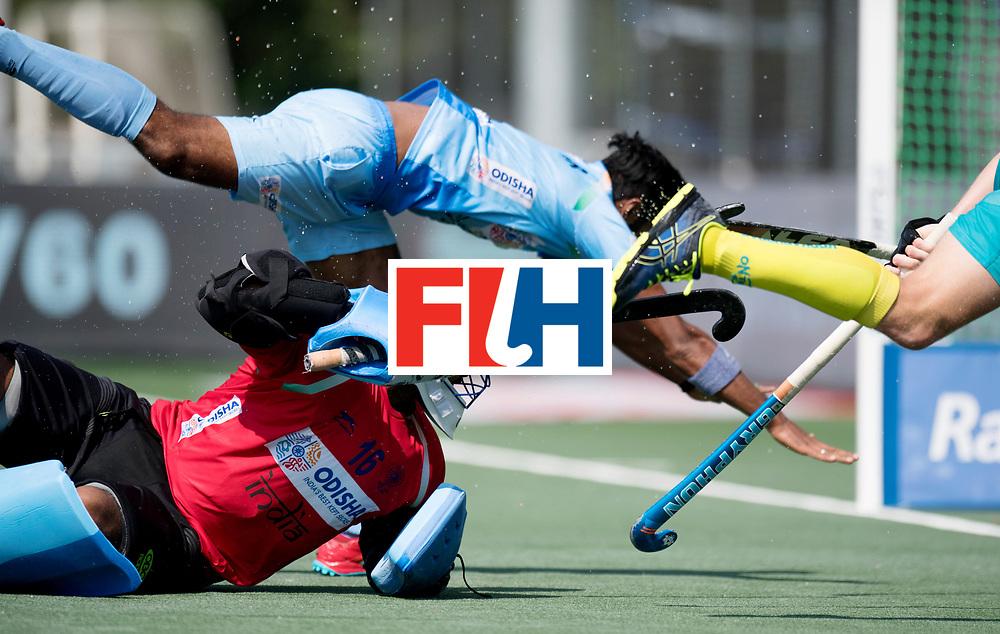BREDA - Rabobank Hockey Champions Trophy<br /> India - Australia<br /> Photo: Sreejesh Parattu.<br /> COPYRIGHT WORLDSPORTPICS FRANK UIJLENBROEK