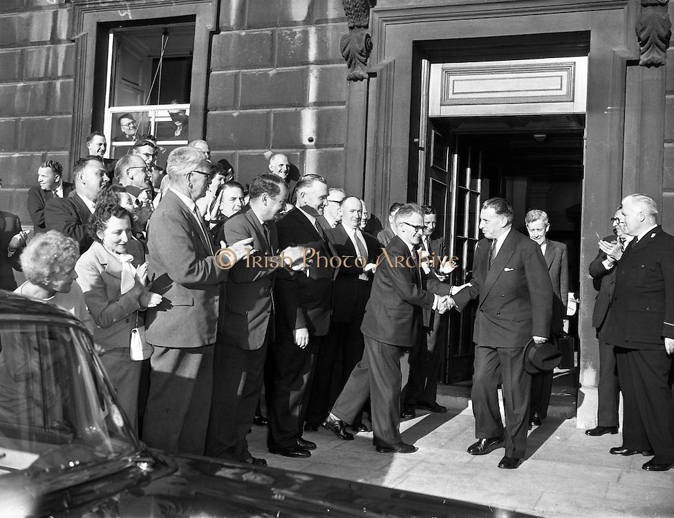 New Taoiseach, Sean Lemass, elected. 23/06/1959.