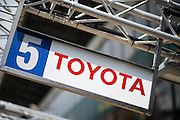 June 14-19, 2016: 24 hours of Le Mans. Atmosphere at the 24 hours of Le Mans, Toyota garage