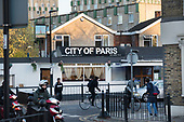 East London Paris UK Brexitland