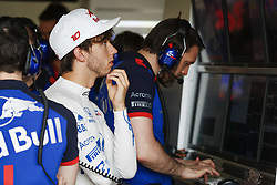 April 27, 2018 - Baku, Azerbaijan - GASLY Pierre (fra), Scuderia Toro Rosso Honda STR13, portrait during the 2018 Formula One World Championship, Grand Prix of Europe in Azerbaijan from April 26 to 29 in Baku - Photo  /  Motorsports: World Championship; 2018; Grand Prix Azerbaijan, Grand Prix of Europe, Formula 1 2018 Azerbaijan Grand Prix, (Credit Image: © Hoch Zwei via ZUMA Wire)