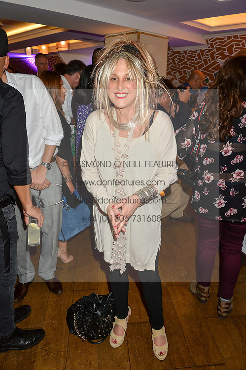 ELIZABETH EMANUEL at a party hosted by Nancy Dell'Olio to celebrate the launch of Limonbello held at The Club at The Ivy, 9 West Street, London on 20th July 2016.