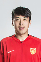 **EXCLUSIVE**Portrait of Chinese soccer player Ou Ya of Hebei China Fortune F.C. for the 2018 Chinese Football Association Super League, in Marbella, Spain, 26 January 2018.