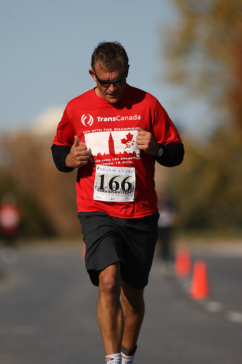 (Ottawa, ON---18 October 2008) RENE YARASKAVITCH competes in the 2008 TransCanada 10km Canadian Road Race Championships. Photograph copyright Sean Burges/Mundo Sport Images (www.msievents.com).