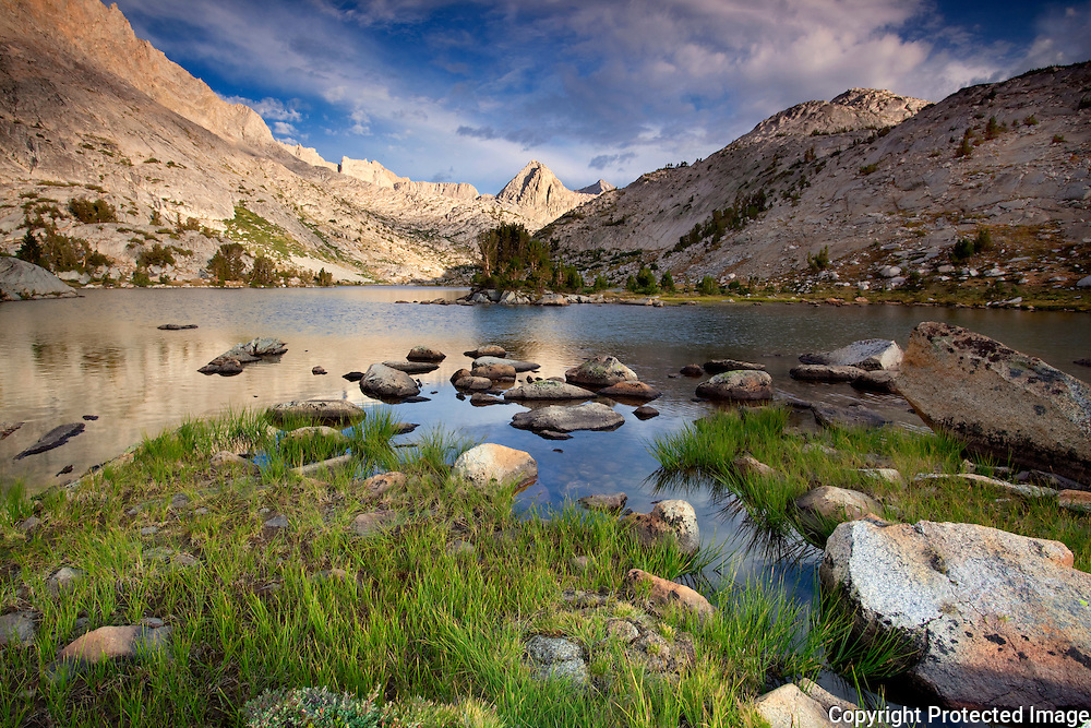 Evolution Lake, John Muir Wilderness, California