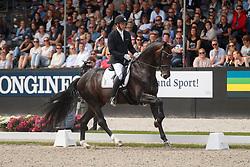 Helgstrand Andreas, DEN, Ferrari Old<br /> Longines FEI/WBFSH World Breeding Dressage Championships for Young Horses - Ermelo 2017<br /> © Hippo Foto - Dirk Caremans<br /> 06/08/2017