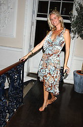 DAISY SHIELDS at a party hosted by Franc Roddam and Frost French to celebrate the publication of Margarita's Olive Press by Rodney Sheilds held at No1 Greek Street, Soho Square, London W1 on 15th September 2005.<br /><br />NON EXCLUSIVE - WORLD RIGHTS