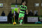 Forest Green Rovers Joseph Mills(23) during the EFL Sky Bet League 2 match between Forest Green Rovers and Grimsby Town FC at the New Lawn, Forest Green, United Kingdom on 22 January 2019.