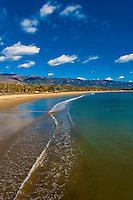 East Beach, Santa Barbara, California USA.