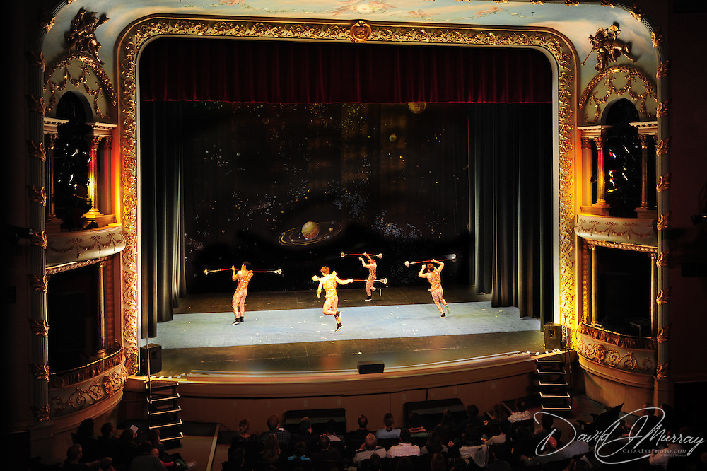 The National Acrobats of the People's Republic of China perform at the Music Hall in Portsmouth, NH