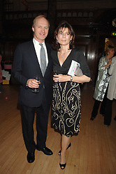 JAMES & LUCY HERVEY-BATHURST at a party to celebrate the publication of 'Seven Secrets of Successful Parenting' by Karen Doherty and Georgia Coleridge, held at Chelsea Town Hall, King's Road, London on 28th April 2008.<br />