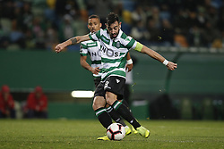 December 16, 2018 - Lisbon, Portugal - Bruno Fernandes of Sporting scores his team's fifth goal  during Primeira Liga 2018/19 match between Sporting CP vs CD Nacional, in Lisbon, on December 16, 2018. (Credit Image: © Carlos Palma/NurPhoto via ZUMA Press)