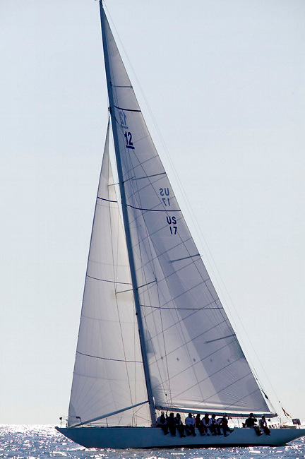 Weatherly, Traditional class at the 12 Meter Class North American Championship