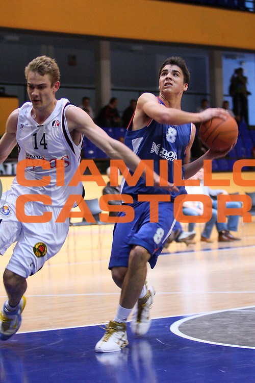 DESCRIZIONE : Madrid Nike International Junior Tournament Cibona Zagabria Lietuvos Rytas <br /> GIOCATORE : Toni Brnas <br /> SQUADRA : Cibona Zagabria <br /> EVENTO : Nike International Junior Tournament <br /> GARA : Cibona Zagabria Lietuvos Rytas <br /> DATA : 01/05/2008 <br /> CATEGORIA : Penetrazione <br /> SPORT : Pallacanestro <br /> AUTORE : Agenzia Ciamillo-Castoria/S.Silvestri <br /> Galleria : Eurolega 2007-2008 <br />