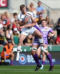 Alex Hearle of Worcester Warriors in action - Mandatory byline: Patrick Khachfe/JMP - 07966 386802 - 14/09/2019 - RUGBY UNION - Franklin's Gardens - Northampton, England - Premiership Rugby 7s (Day 2)
