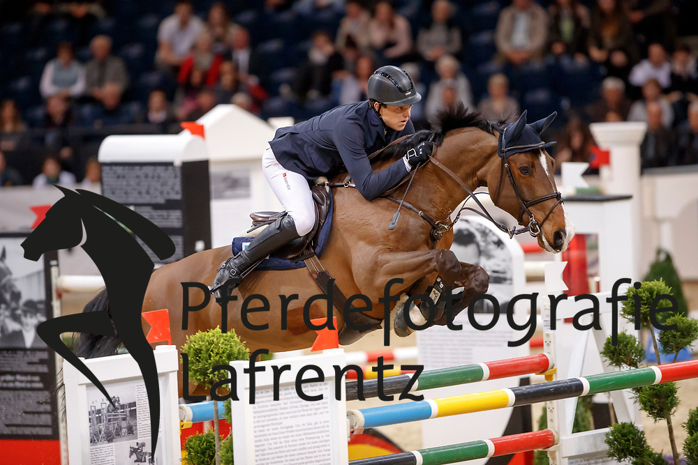 Kreuzer, Andreas (GER) Quick Jumper<br /> Braunschweig - Löwen Classics 2017<br /> © Stefan Lafrentz
