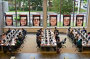 Nederland, Nijmegen, 20-9-2012Studenten achter de monitor, monitoren, beeldscherm, beeldschermen in de bibliotheken van de Radboud Universiteit. Hier in de universiteitsbibliotheek.ub.Foto: Flip Franssen/Hollandse Hoogte