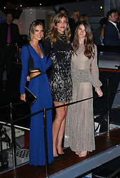 Alessandra Ambrosio and Ana Beatriz Barros attend Roberto Cavalli's boat party at the Cannes Film Festival. France. 22/05/2013<br />