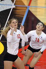 20141017 Northern Iowa Panthers at Illinois State Redbirds Women's Volleyball photos