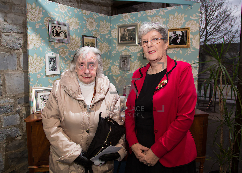 26.02.2016<br /> Roots of The Rising Exhibition, Limerick City Library. <br /> Attending the event were, Helen Litton and Mairead Dore. Picture: Alan Place