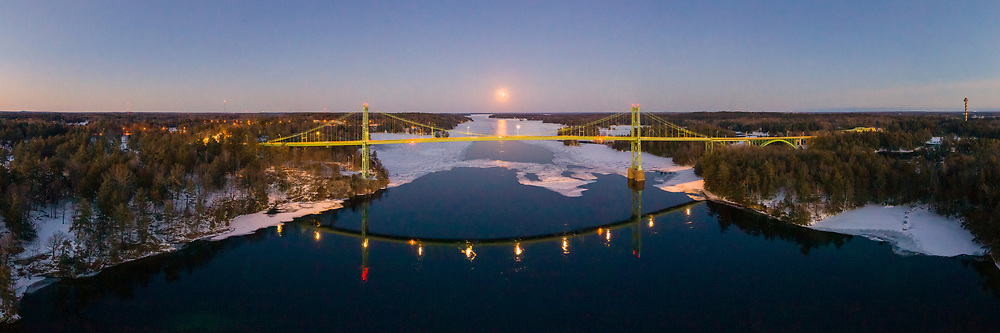 https://Duncan.co/snow-super-moon-and-1000-islands-bridge