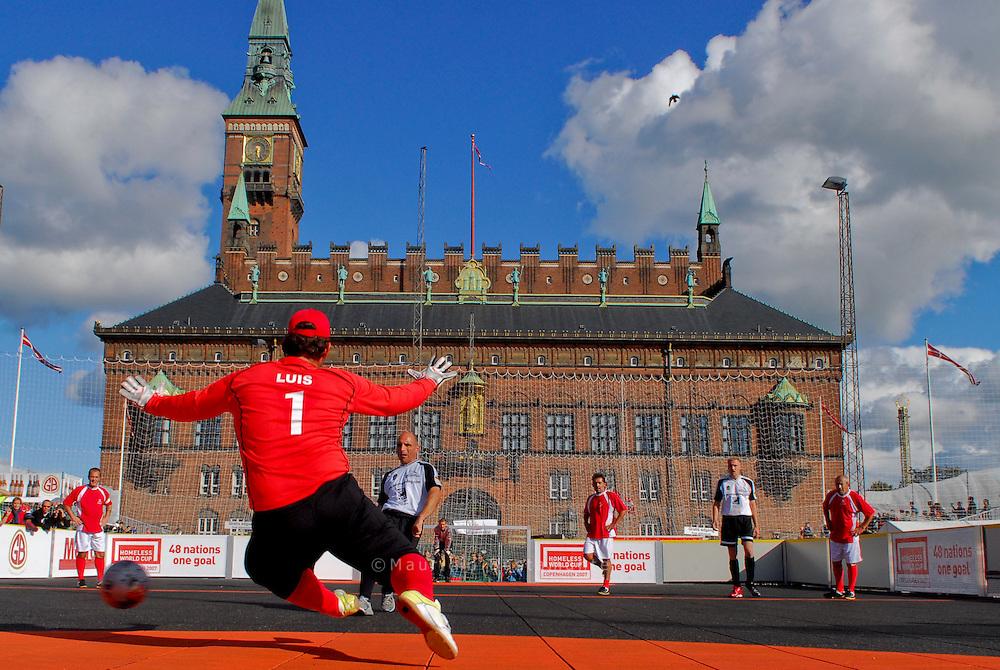 Copenhagen 2007. Homeless World Cup