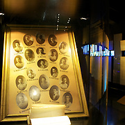 Hisorical artifacts on display in the Museum at Boca Juniors football stadium, La Bombonera, in La Boca region of Buenos Aires, Argentina, 25th June 2010. Photo Tim Clayton..