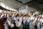 Belo Horizonte_MG, Brasil...Torcida do Atletico Mineiro no Mineirao na final do Campeonato Mineiro 2007...Atletico Mineiro fans in Minerao at the end Football Championship 2007...FOTO: BRUNO MAGALHAES /  NITRO