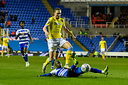 Luke Ayling (2)  of Leeds United during the EFL Sky Bet Championship match between Reading and Leeds United at the Madejski Stadium, Reading, England on 12 March 2019.