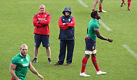 Rugby Union - 2017 British & Irish Lions Tour of New Zealand - Captains Run <br /> <br /> Warren Gatland head coach of the Lions chats to Graham Rowentree his assistant coach during the Captains Run at The QBE Stadium, Auckland. <br /> <br /> COLORSPORT/LYNNE CAMERON