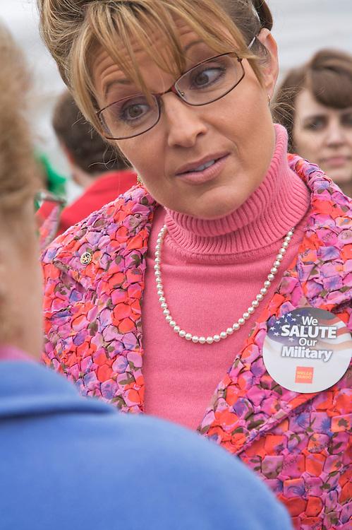 Alaska State Fair, 2007, Palmer, Alaska, Governor Palin