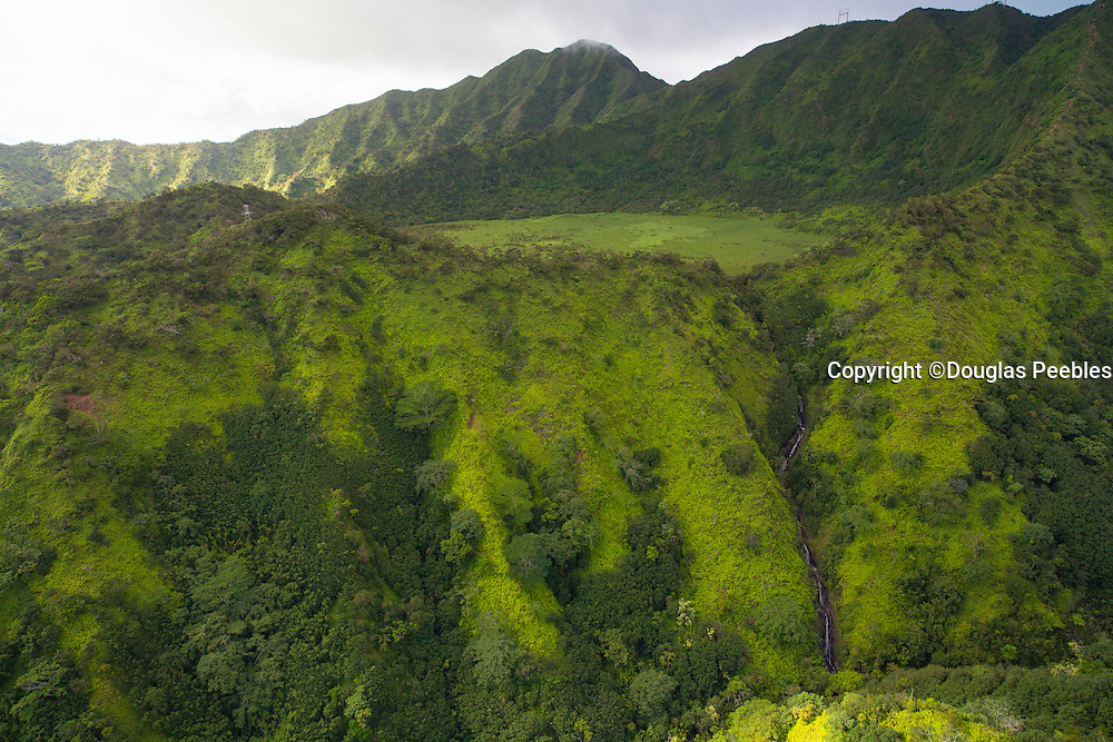 Kaau Crater, Koolau Mountains, Oahu, Hawaii