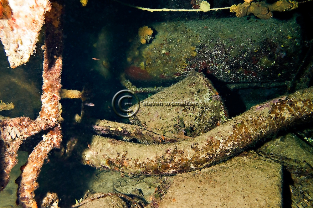 Engine Room Remnants, Oro Verde, Shipwreck, Grand Cayman