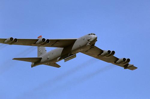 B-52H bomb bay doors open & 37169_B52H_GNH.tif | Aviation Stock Photography
