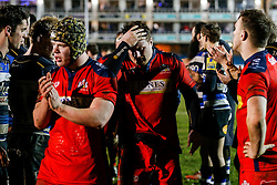 Bristol United Prop Kyle Traynor looks dejected after Bath United win the match - Mandatory byline: Rogan Thomson/JMP - 28/12/2015 - RUGBY UNION - The Recreation Ground - Bath, England - Bath United v Bristol United - Aviva A League.