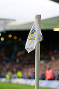 Leeds Utd crest during the EFL Sky Bet Championship match between Leeds United and Burton Albion at Elland Road, Leeds, England on 29 October 2016. Photo by Richard Holmes.