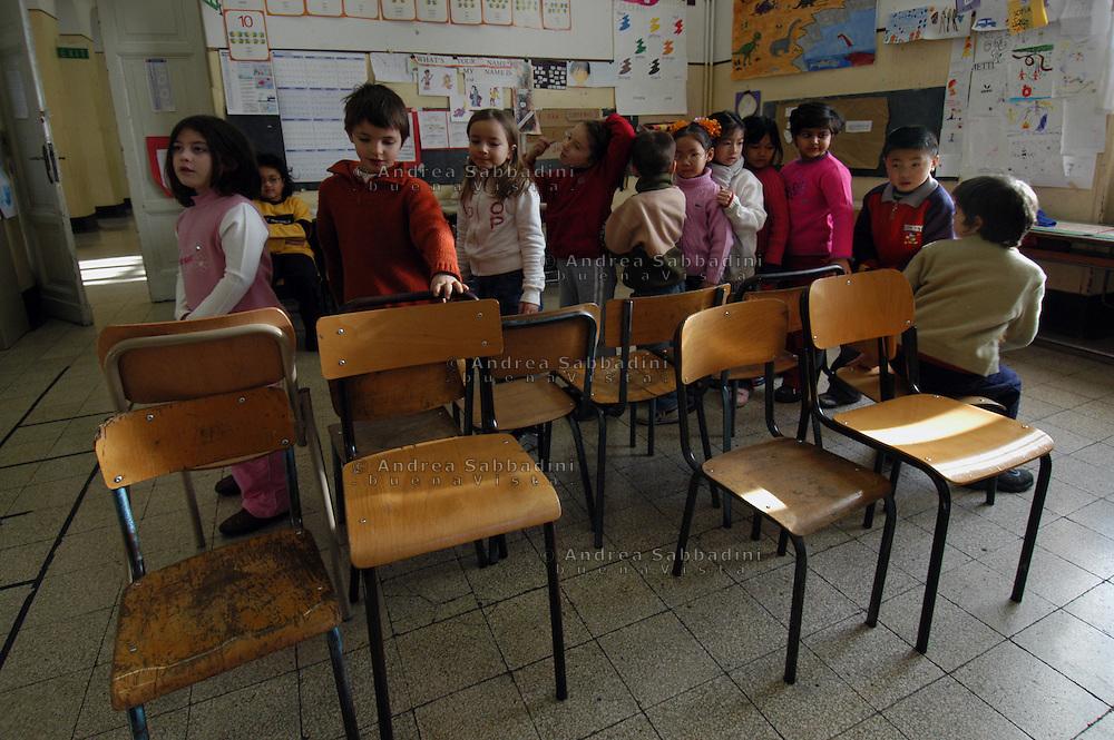 Roma, 08/02/2005: Scuola elementare &quot;Di Donato&quot; - Primary school.<br /> &copy;Andrea Sabbadini