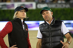 Tiffany Foster, Eric Lamaze (CAN)<br /> Final competiton<br /> Furusiyya FEI Nations Cup™ Final - Barcelona 2014<br /> © Dirk Caremans<br /> 11/10/14