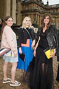 TALLULAH LE BON; SAFFRON LE BON; YASMIN LE BON, Dior presentation of the Cruise 2017 collection. Blenheim Palace, Woodstock. 31 May 2016