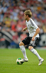 06.09.2013, Allianz Arena, Muenchen, GER, FIFA WM Qualifikation, Deutschland vs Oesterreich, Rueckspiel, im Bild Toni Kroos (GER) am Ball Freisteller, Einzelbild, Aktion, , , Qualifikation Weltmeisterschaft Brasilien 2014 Rueckspiel , Saison 2013 2014 Muenchen Allianz-Arena, 06.09.2013 // during the FIFA World Cup Qualifier second leg Match between Germany and Austria at the Allianz Arena, Munich, Germany on 2013/09/06. EXPA Pictures © 2013, PhotoCredit: EXPA/ Eibner/ Michael Weber<br /> <br /> ***** ATTENTION - OUT OF GER *****