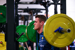 Jamie Shillcock of Worcester Warriors during training ahead of the Premiership Rugby fixture against Bristol Bears - Mandatory by-line: Robbie Stephenson/JMP - 21/03/2019 - RUGBY - Sixways Stadium - Worcester, United Kingdom - Worcester Warriors Training