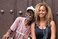 On the streets of Old Havana, Cuba.