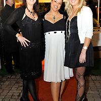 -FREE PICTURE / NO REPRODUCTION FEE-.Pictured at the annual Black and White Ball in the Blue Haven Hotel, Kinsale were leanne Tynan, Midleton; Anne Nash, Kinsale and Suzanne Colbert, Midleton..Pic. John Allen