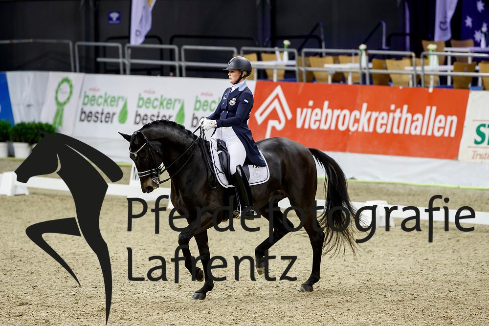 Rinne, Malin (SWE) Scharmeur<br /> Oldenburg - AGRAVIS Cup 2017<br /> © www.sportfotos-lafrentz.de/Stefan Lafrentz